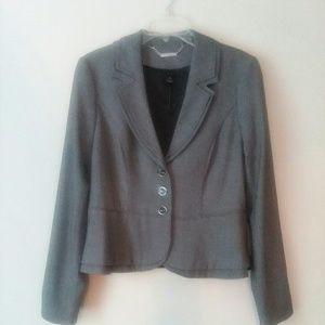 NWOT White House Black Market Mini Check Jacket